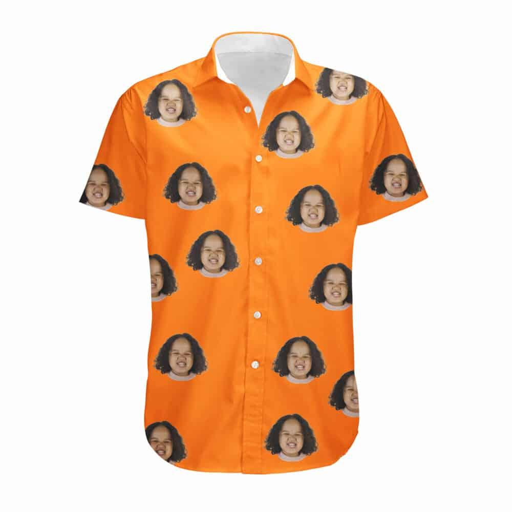 pumpkin button up